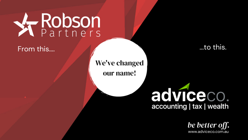 Robson Partners to AdviceCo.