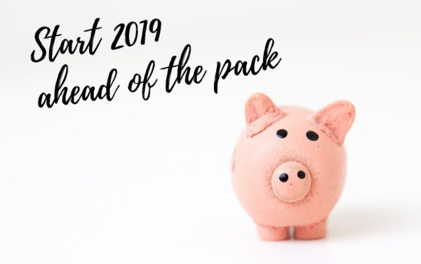 Start 2019 ahead of the pack