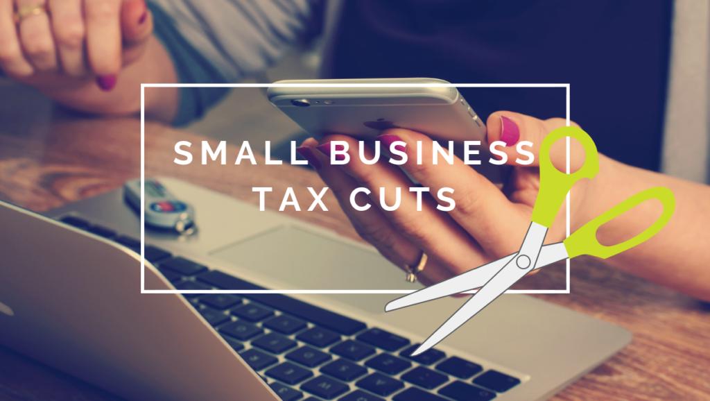 Small business tax cuts