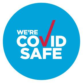 COVID-safe logo