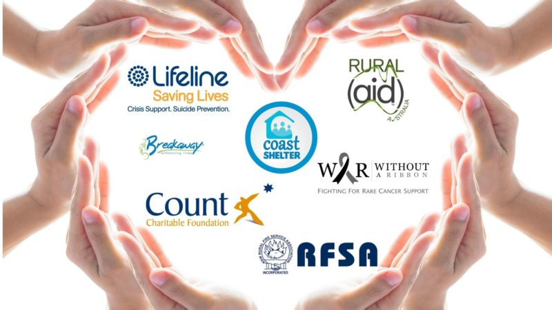 Charities we've donated to