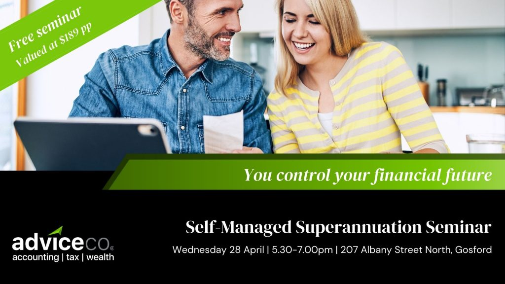 Self-managed superannuation seminar