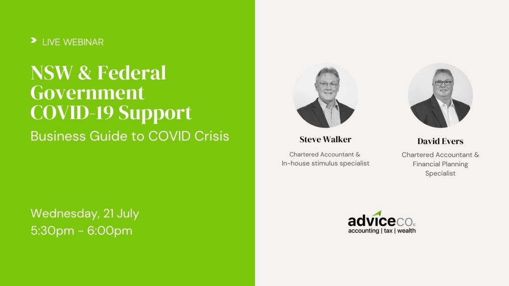 NSW & Federal Government COVID-19 Support Webinar